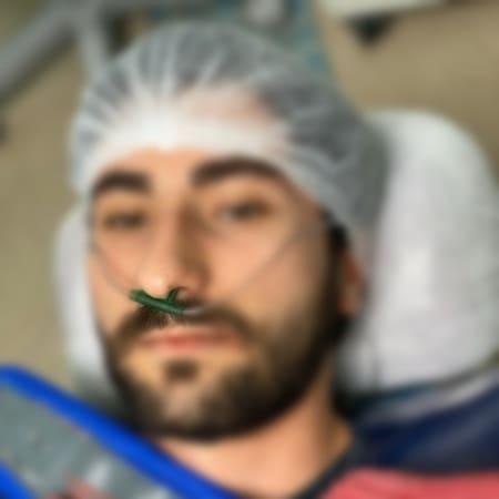 Oxigenação - Paciente recebe durante toda a cirurgia oxigenação.